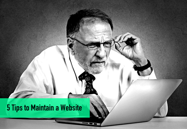 5 Tips to Maintain a Website