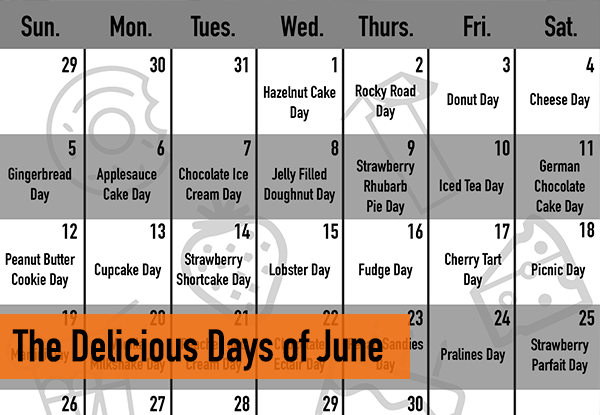 The Delicious Days of June