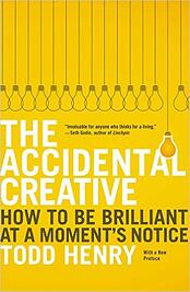 Best marketing book: The Accidental Creative