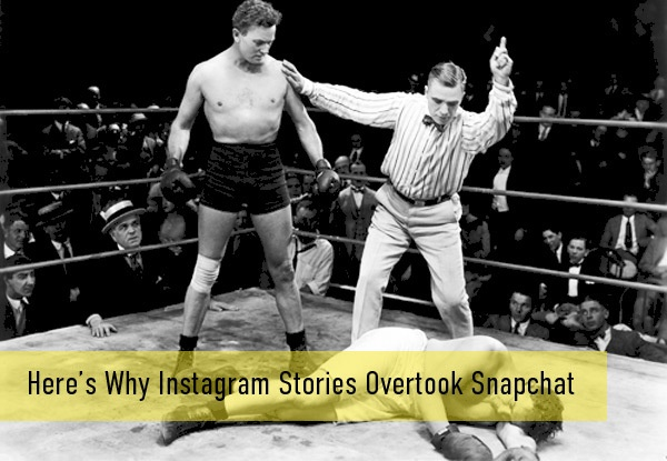 Here's Why Instagram Stories Overtook Snapchat