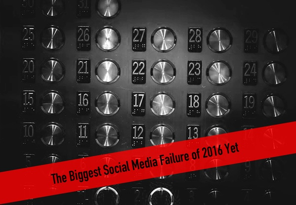 The Biggest Social Media Failure of 2016 Yet