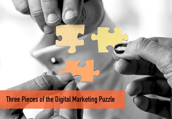 Three Pieces of the Digital Marketing Puzzle