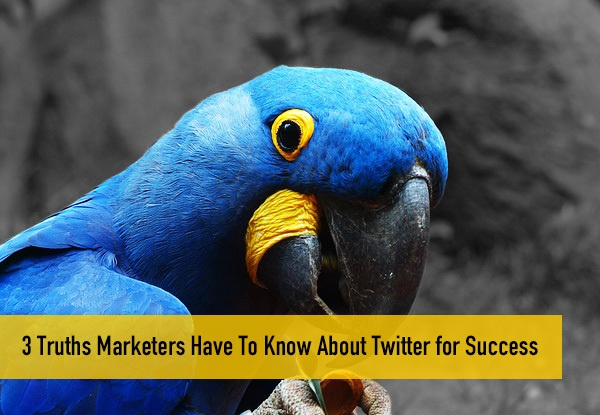 3 Truth Marketers Have To KNow About Twitter for Success